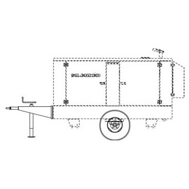 Mosa CTL35 Site Tow Trailer