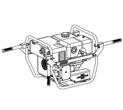 Mosa MagicWeld 200 Petrol Handles Kit