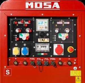 Mosa TS EVO Digital Front Panel