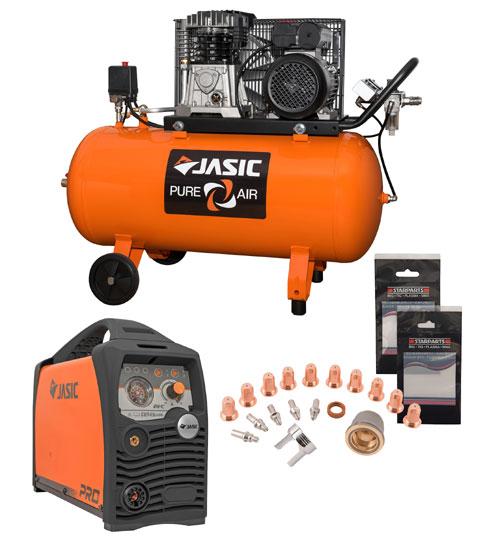 Jasic Air Compressor and Plasma 45