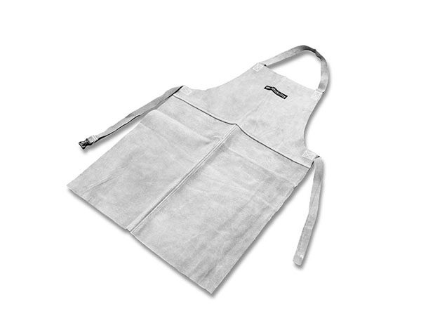 chrome leather welding apron