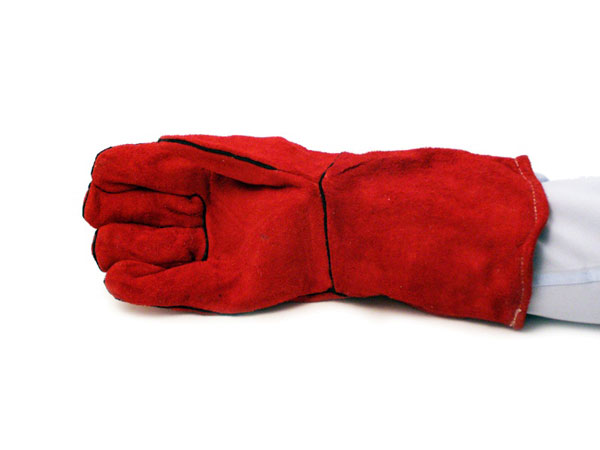 Premium leather welders gauntlets