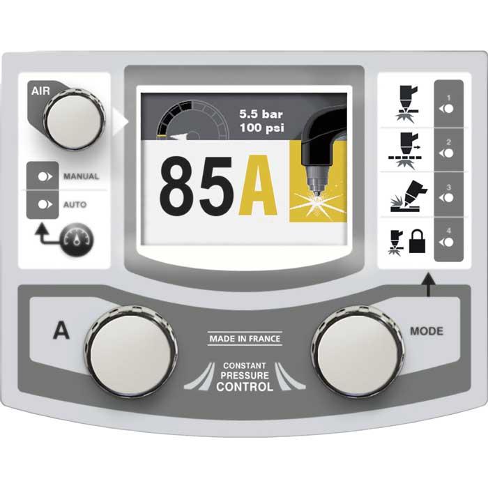 GYS Plasma 85A panel