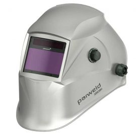 Parweld true colour welding helmet XR938H Silver colour