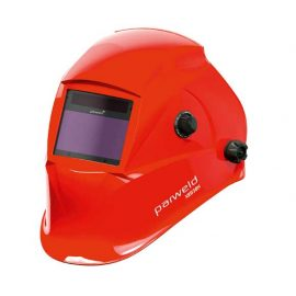 Parweld welding helmet red true colour XR938H