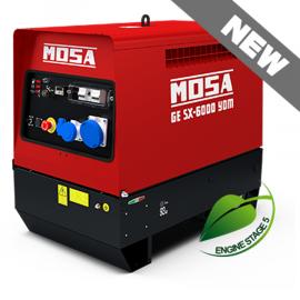Mosa GE SX-6000 YDM Super Silenced Diesel