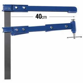 Piher piston clamp K40 4.5kg - 40cm Rolled steel bar clamp