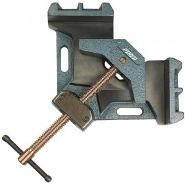 Piher welders angle clamp 90 degree screw copper plated cast iron