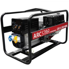 ArcStar GW5-200 HBM Petrol Driven Welder generator