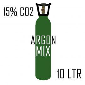Argon 15% CO2 MIG welding gas - rent free