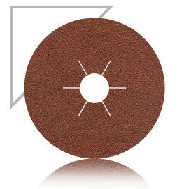 Aluminium Oxide 4.5 inch 115mm sanding fibre disc 36 grit