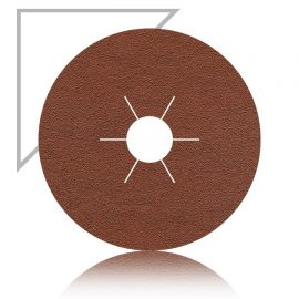 AlOx 4.5 inch 115mm sanding fibre disc 60 grit