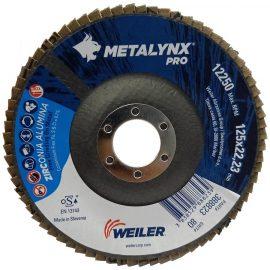 Metalynx PRO Zirconium flap discs 5 inch 40 Grit Back