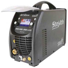SWP Stealth DIGI MIG 200 LCD Multi process MIG Welder Inverter Dual Voltage 9005H