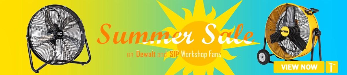 Workshop Fan Summer Sale