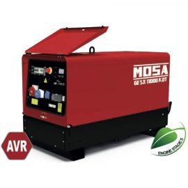 MOSA Super Silenced GE SX-11000 KDT AVR Diesel Generator