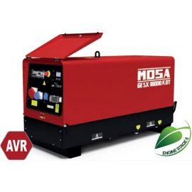 MOSA Super silenced GE SX-18000 KDT AVR water cooled Diesel Generator