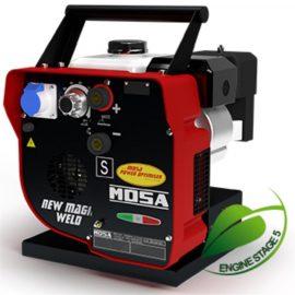 Mosa Magic Weld 150 Petrol Welder Generator 230V