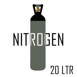 Nitrogen 20 ltr Gas Cylinder
